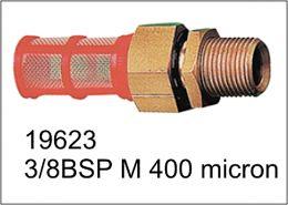 Φίλτρο νερού ορειχάλκινο 3/8BSP M για δοχεία νερού